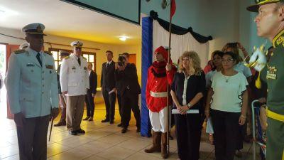Acto en la Escuela de Suboficiales de Gendarmería Nacional (2)