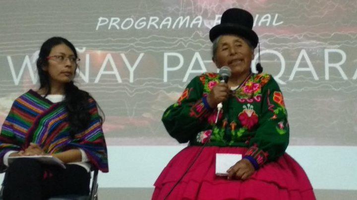 Rosa Palomino: La comunicación comunitaria es la columna vertebral de las comunidades