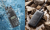 icom waterproof
