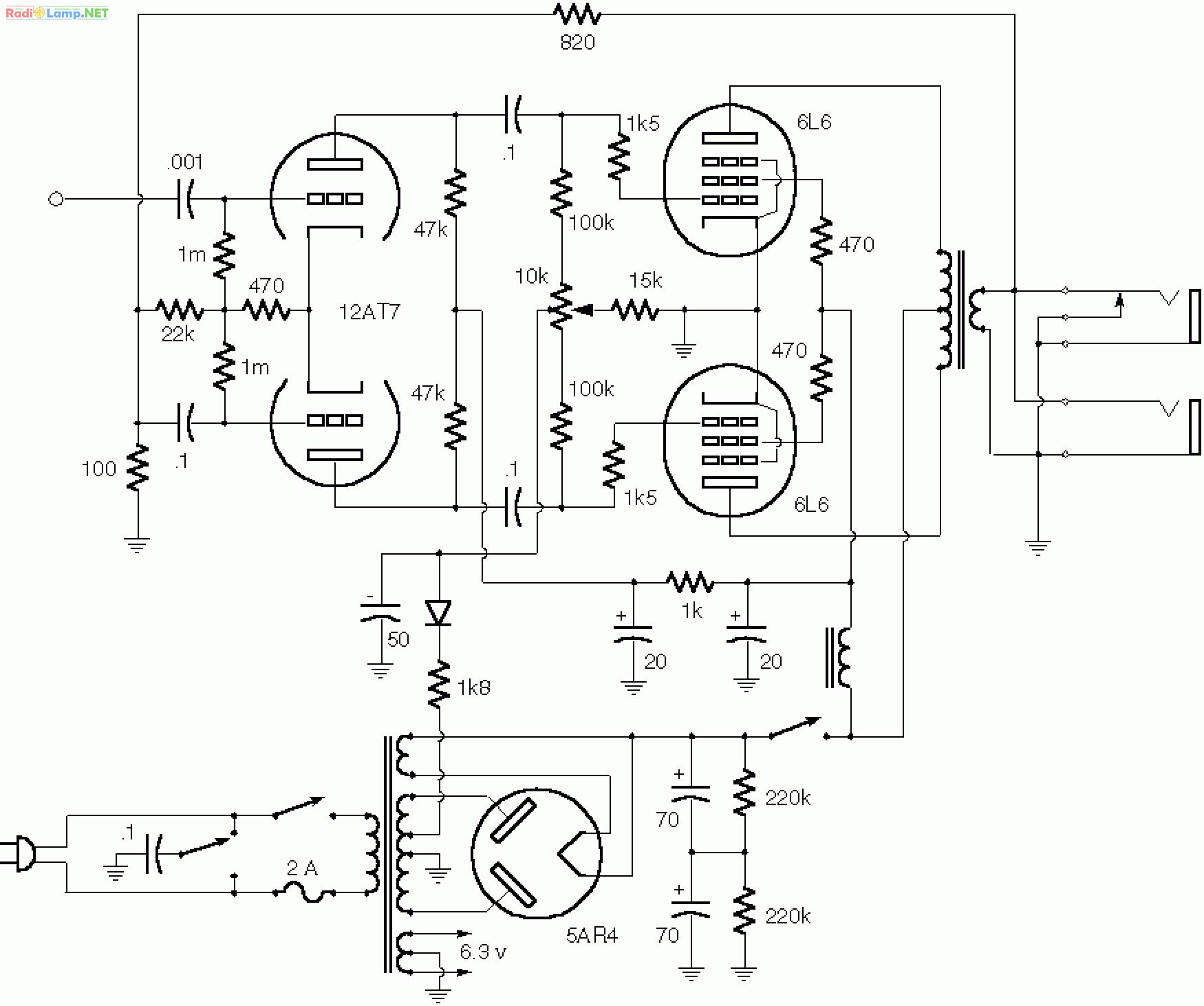Fender Silverface Power Amp