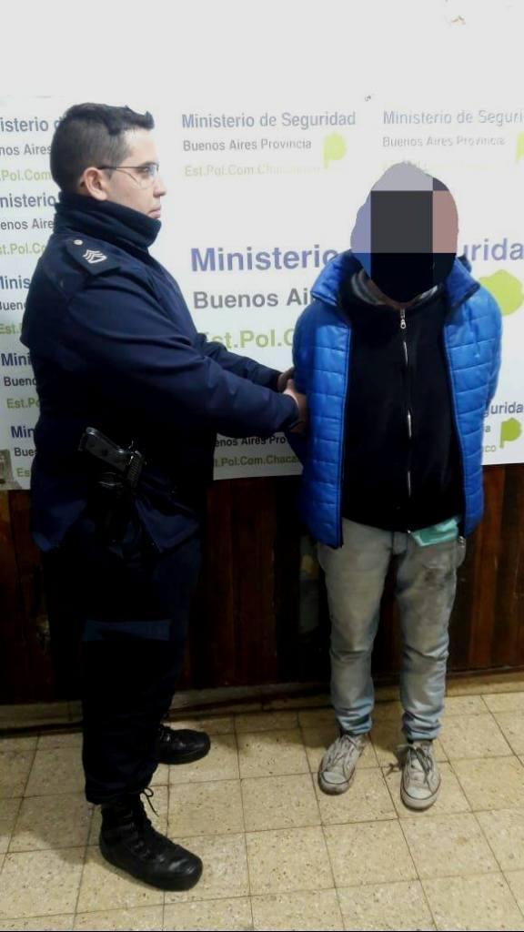 Detenido por intento de homicidio contra su madre
