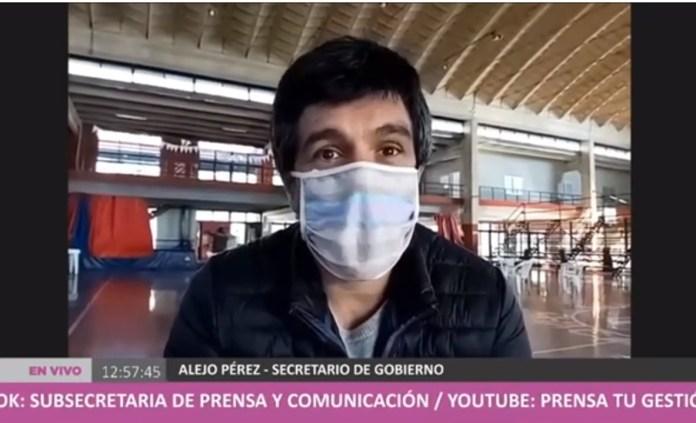 alejo perez secretario gobierno chacabuco