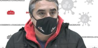 alberto mastantuono director de deportes de chacabuco