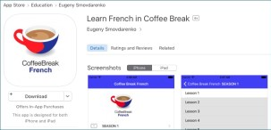 Unauthorised Coffee Break Apps - Coffee Break Languages