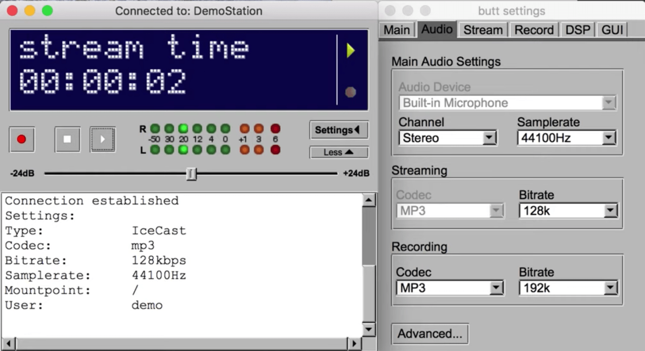 How To Broadcast Using This Tool (BUTT)