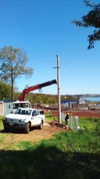 Trabajos Energía de Misiones Puerto Canela Posadas