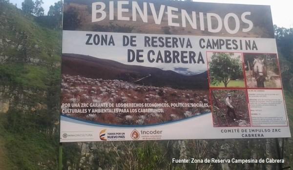 El 26 de febrero la zona de reserva campesina de cabrera dirá no a la mineria y a las hidroelectricas en la consulta popular - reserva-campesina-de-cabrera