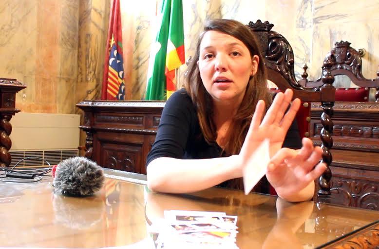 """""""La solidaridad internacionalista es vital para que proclamemos la República Catalana"""".entrevista a Montserrat Venturós -Alcaldesa de Berga - alcal"""