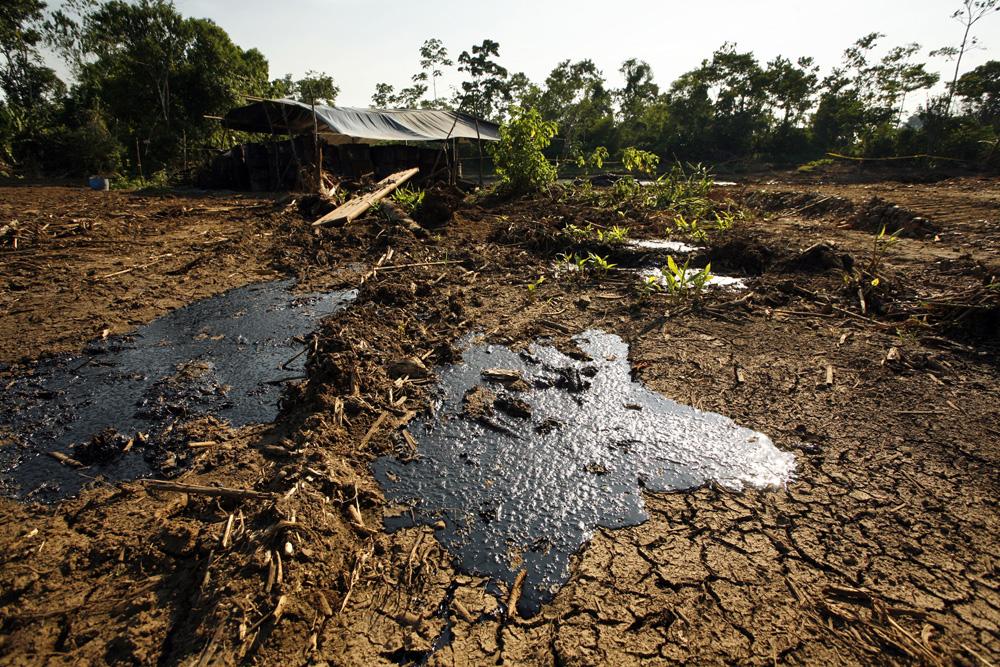 Explotaci n de petr leo afecta suelos y fuentes h dricas - Suelos radiantes por agua ...