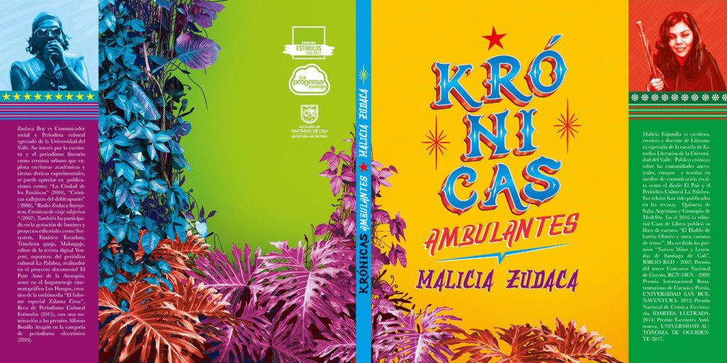 Krónicas Ambulantes Malicia Zudaca ¡Proyectiles narrativos en la Feria del Libro de Cali! - portada-1024x512