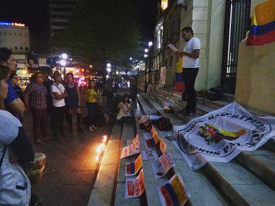 """Argentina """"Que cumplan lo pactado"""" exigió el plantón de solidaridad urgente por Colombia - result_46_"""