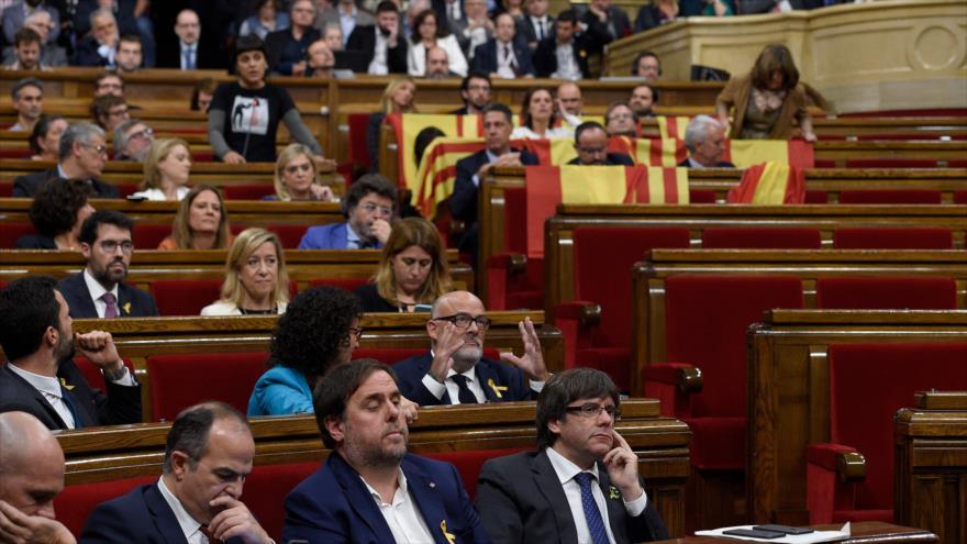 25 % de los diputados secesionistas de Cataluña perdería el cargo - cataluña