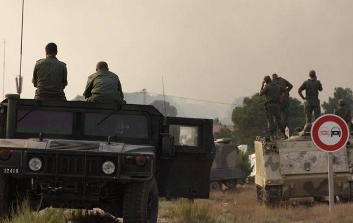 القضاء على 3 عناصر إرهابية في منطقة على مقربة من رسم الحد التونسي الجزائري