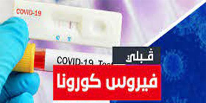 قبلي : تسجيل 88 اصابة جديدة مؤكدة بفيروس كورونا
