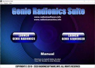 Genie Radionic Suite The Absolute best radionics software