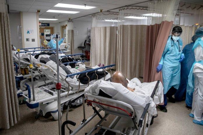 Menos 310 internados em dia com mais 63 mortes por covid-19
