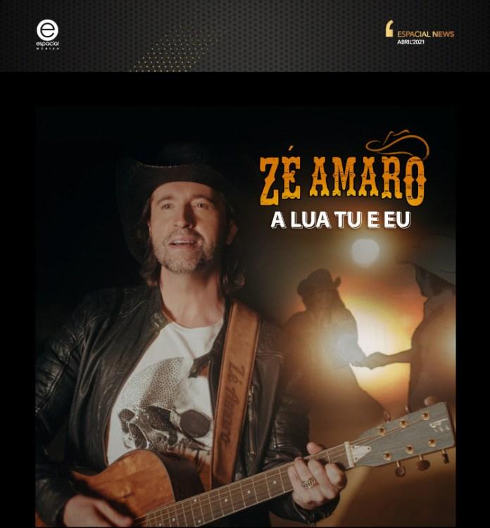 'A lua tu e eu' ´´e o novo single de Zé Amaro