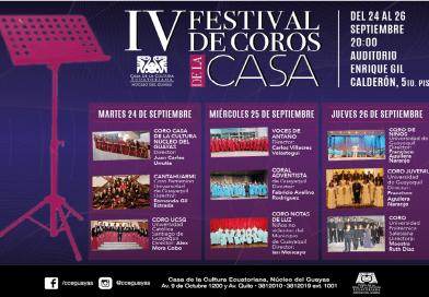 IV Festival de Coros de la  Casa de la Cultura