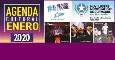 Agenda digital de enero de 2020 – Guayaquil