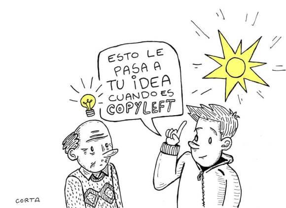 Derechos compartidos, contenidos libres