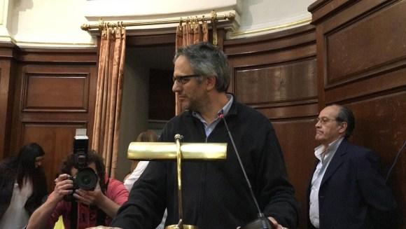 Con Rodrigo Arim, rector de la Udelar