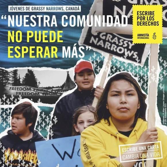 'Escribe por los derechos' – Amnistía Internacional Uruguay