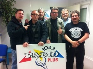 groupe spirit originaire de saint omer sur radio plus en mai 2013