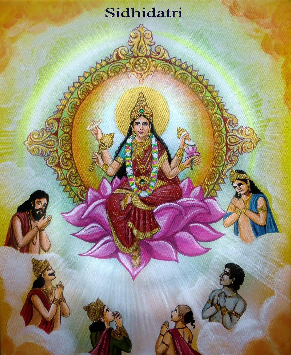 hindu-goddess-siddhidatri-one-of-the-form-of-lord-durga-devi