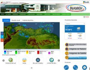 Pagina WEB del INAMEH