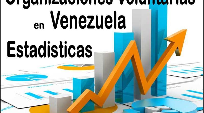 Organizaciones Voluntarias en Venezuela, Estadisticas