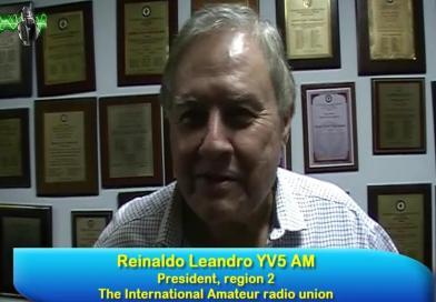 La radioafición y su evolución constante. Reinaldo Leandro, YV5AM.