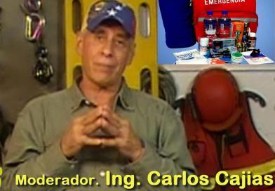 """""""Temas"""" Segundo programa de la serie conducida por Carlos Cajias. """"Mochila de Emergencia""""."""