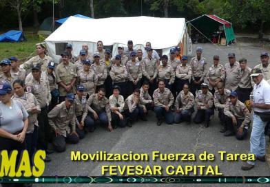 """TEMAS"" Prog. 08.  Movilización de la Fuerza de Tarea FEVESAR Capital FTCCS."
