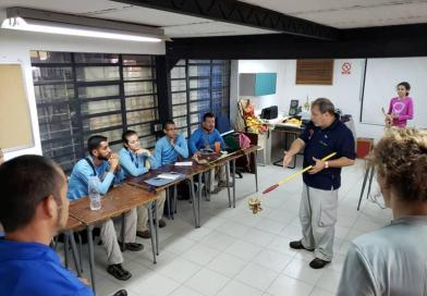 CEMAG dicta taller sobre identificación y manejo de serpientes a la O.R.H.