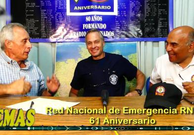"""'""""TEMAS"""" Prog 12. Red Nacional de Emergencia RNE, 61 Aniversario. (+Video)"""
