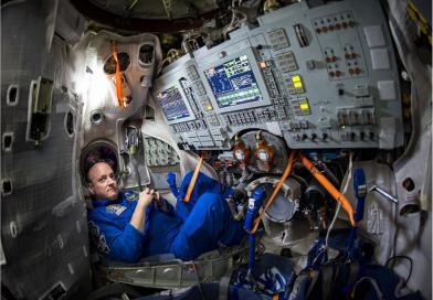 """""""Consejos sobre aislamiento"""". Después de un año en el espacio, creo tener algunos."""