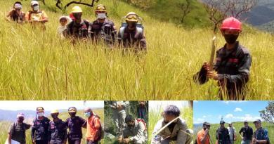 CEMAG realiza octava jornada de reforestación en el «Warairarepano»