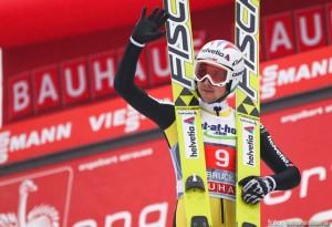 Simon Ammann a castigat prima etapa a Turneului celor 4 Trambuline