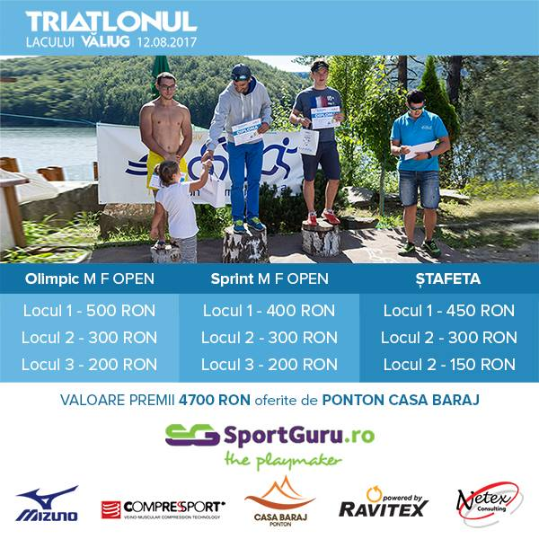 triatlon lac Valiug
