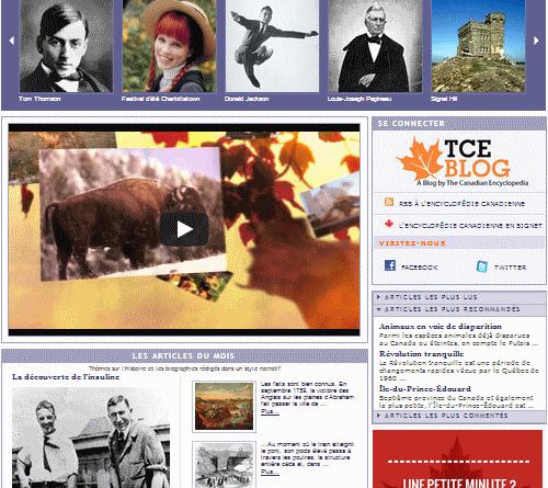 L'Encyclopédie canadienne