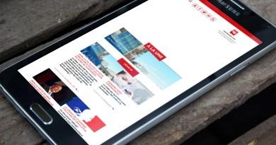 Le site HoaxBuster ouvert sur un téléphone portable