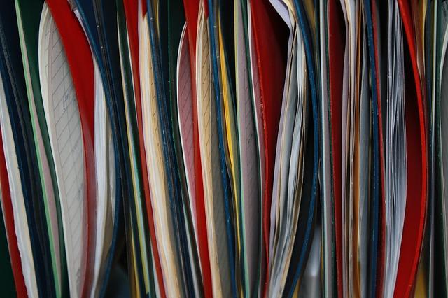 Dossiers de couleurs