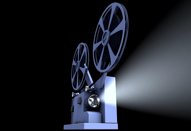 Projecteur de cinéma