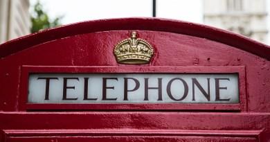 Téléphone londonien
