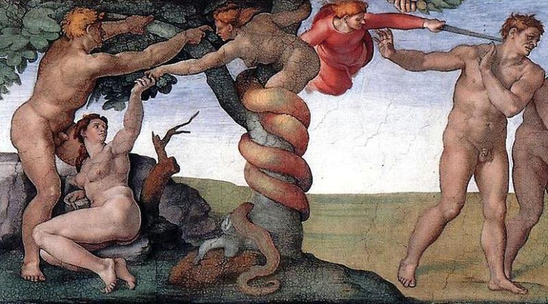 Le péché originel et le renvoi du Paradis terrestre