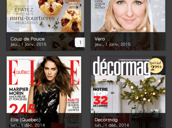 Magazines canadiens francophones dans PressReader