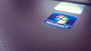 Étiquette de Windows 7