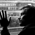 Homme en état de déprime
