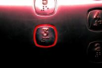 Bouton d'un ascenseur
