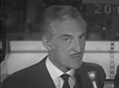 René Lecavalier a francisé le vocabulaire du hockey à la radio